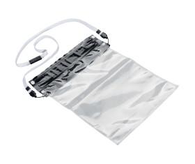 Wasserdichte Kunststoffhülle für Tablets mit speziellen Verschluss